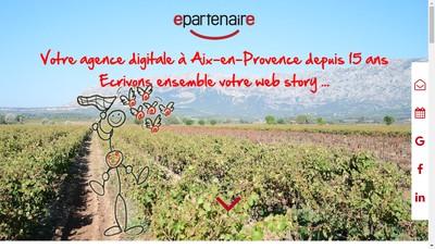 Site internet de E-Partenaire