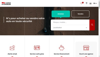 Site internet de Jerome Guerin Agence Auto