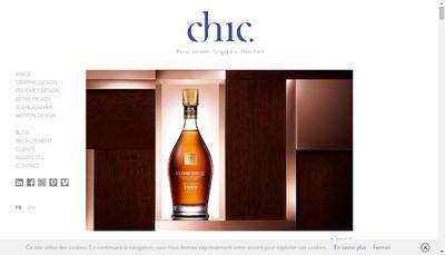 Site internet de Chic