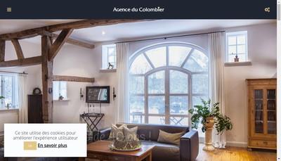 Site internet de Agence du Colombier