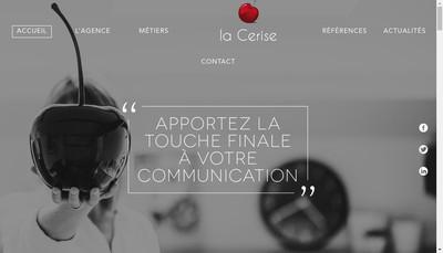 Site internet de La Cerise