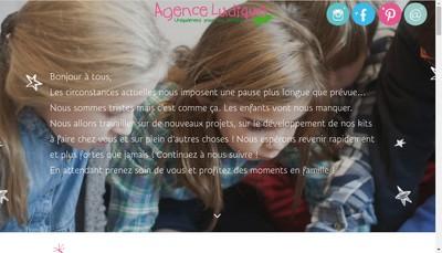 Site internet de Jeux Lis la!