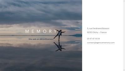 Site internet de Memory