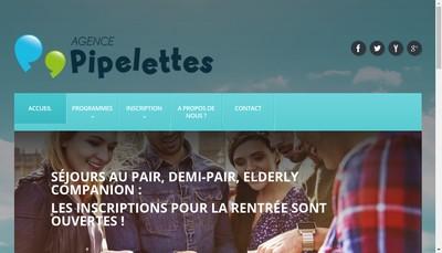 Site internet de Agence Pipelettes