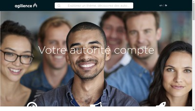 Site internet de Agilience