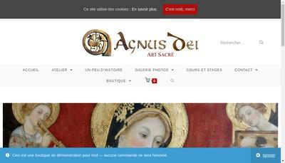 Site internet de Agnus Dei Cathedrales