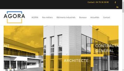 Site internet de Agora Architecture