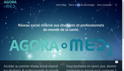 Site internet de Agoramed