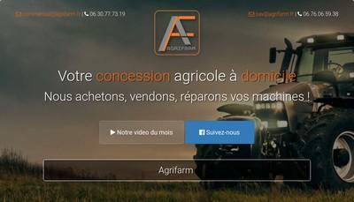 Site internet de Agrifarm