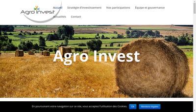 Site internet de Agro Invest