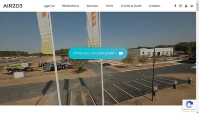 Site internet de Air2D3