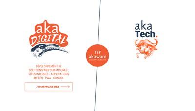 Site internet de Akawam
