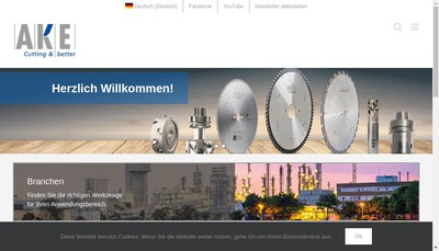 Site internet de Ake France