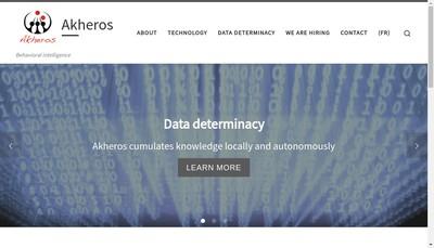 Site internet de Akheros