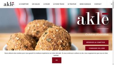 Site internet de Lily Brunch Comptoir a Mezzes