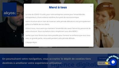 Site internet de Akyos