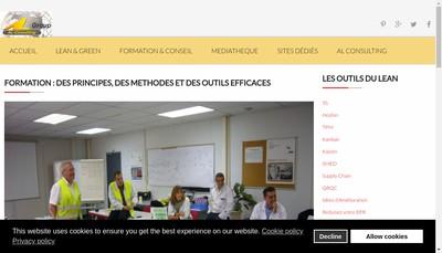 Site internet de Al Consulting