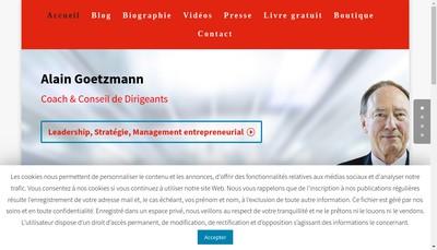 Site internet de Delta Inter Management