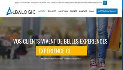 Site internet de Albalogic