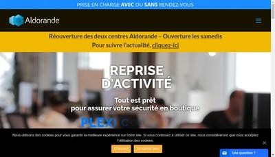 Site internet de Aldorande