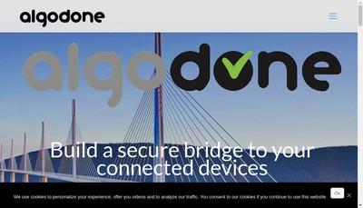 Site internet de Algodone