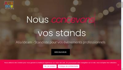 Site internet de Alia Ideam