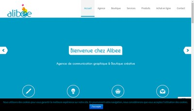 Site internet de Alibee