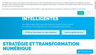 Site internet de Alithya France