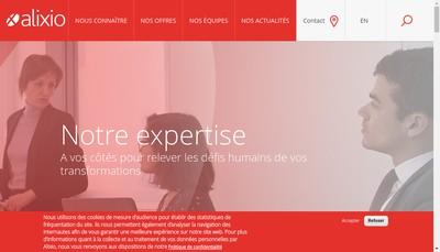 Site internet de Alixio Revitalia