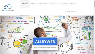 Site internet de Allbyweb