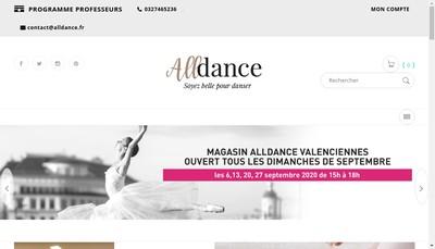 Site internet de Alldance