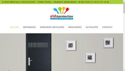 Site internet de Allo Elda Protection
