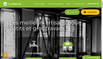 Site internet de Allomarcel