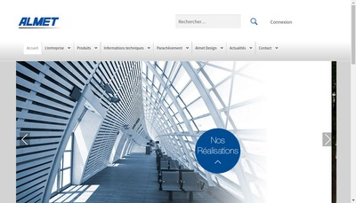 Site internet de Almet