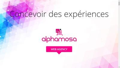 Site internet de SARL Alpha-Mosa