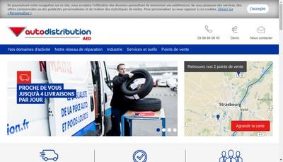 Site internet de Alsace Electro Diesel