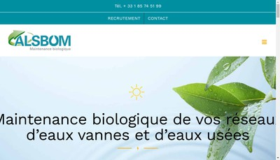 Site internet de Al'S Bio Organic Maintenance