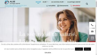 Site internet de Alse