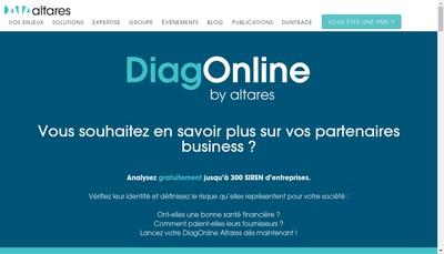 Site internet de Altares