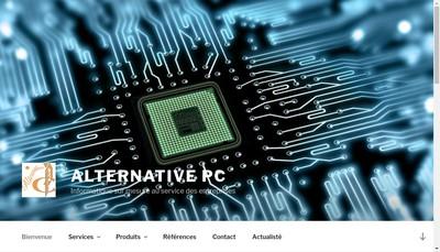 Site internet de Alternative Pc