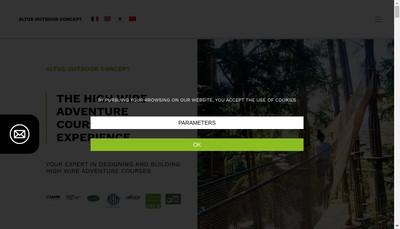 Site internet de Altus