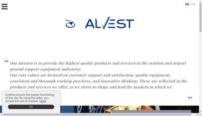 Site internet de Alvest