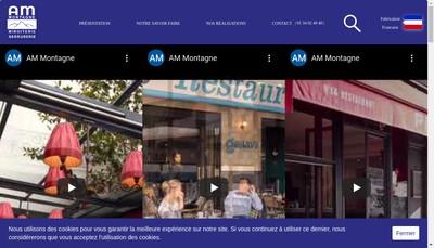 Site internet de Montagne - Am Miroiterie