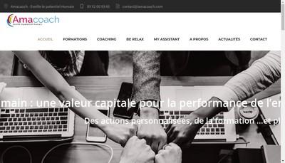 Site internet de Amacoach