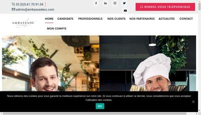 Site internet de Ambassade Cabinet Conseil