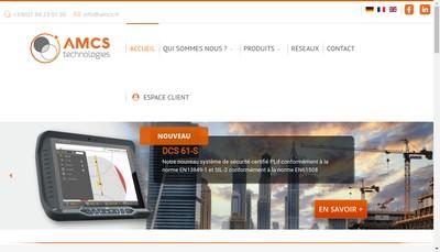 Site internet de AMCS Technologies
