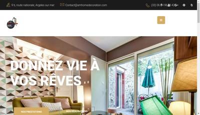 Site internet de AM Home Decoration