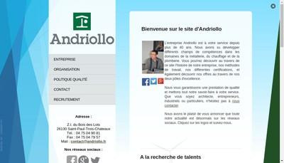 Site internet de Etablissement Andriollo
