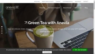 Site internet de Anevia