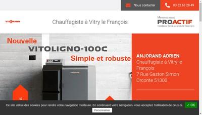 Site internet de Anjorand Adrien SAS